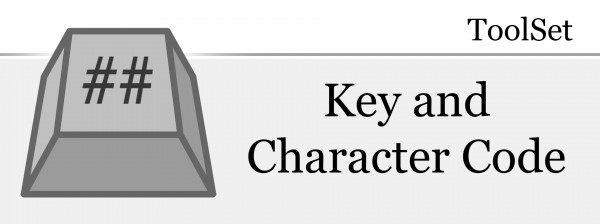 ToolSet - Key and Character Code